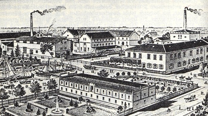Fabrik in Tiegenhof