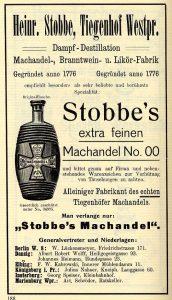 "Machandel Stobbe ""00"""